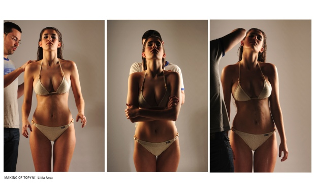 Making of | Swimwear Shooting for e-commerce with Lidia Anka.