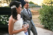 Casament Alba & Marc. 19-07-2009 Santa Coloma de Farners.