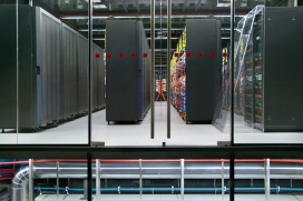 Barcelona Supercomputing Center hosts MareNostrum, the most powerful supercomputer in Spain. In March 2004 the Spanish government and IBM signed an agreement to build one of the fastest computer in Europe. #MareNostrum #BcnSupercomputingCenter.