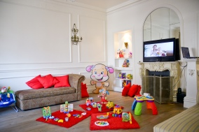 Fischer Price Presentation of New Products Exclusively to papas and mamas with its childs. #FischerPrice #Events