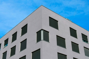 Residential building in Terrassa. External wall insulation systems and facade systems.