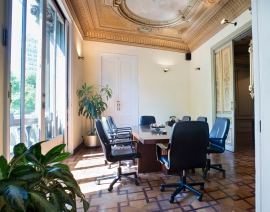 ©Karolina Moon Photo. Interiors of Bufet Sorroca Serrano in the center of Barcelona. One of the most potent Law firm providing legal and financial advice to companies .