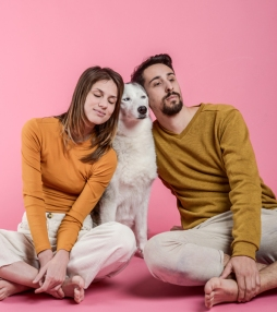 Retrato de Etna & Raquel y David